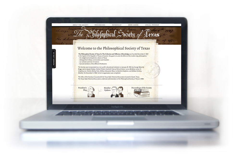 Philosophical Society of Texas web site